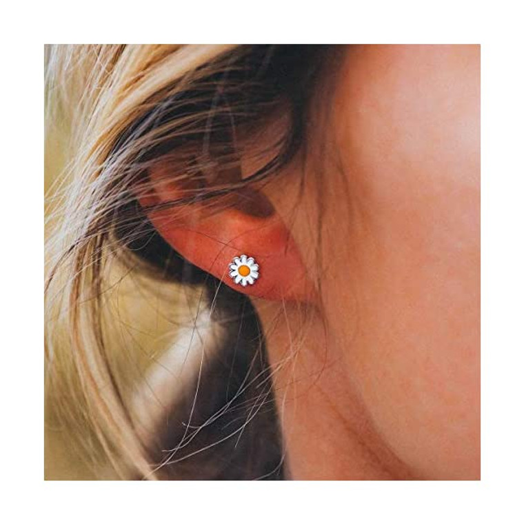 It's okay to buy yourself flowers, especially if they're our Daisy Stud Earrings! This spring-ready set of studs features enameled daisy charms, for a style that's whimsical and romantic (all at the same time).