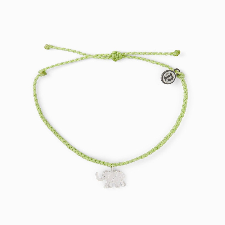 Show your love for elephants with our new Save the Elephants Charm bracelet! For each bracelet sold, we'll donate 5% of the purchase price toThe Elephant Sanctuary,a Tennessee- based nonprofit that provides captive elephants with individualized care, the companionship of a herd, and the opportunity to live out their lives in a safe haven. The Elephant Sanctuary also raises public awareness of the complex needs of elephants in captivity, as well as the crisis facing elephants in the wild.