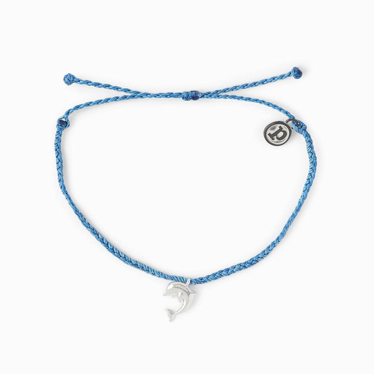 It's the perfect bracelet for all dolphin lovers! For each bracelet sold, 5% of the purchase price will be donated toOceanicPreservationSociety(OPS), a nonprofit that exposes complex global environmental issues and promotes advocacy, including advocating for global protection for dolphins.