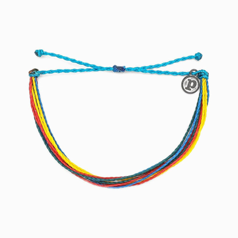 Autism Society's mission is to improve the lives of all affected by autism through advocacy, education, information & referral, support, and a creation of community.10% of netsales of this bracelet will be donated totheAutism Society of America.