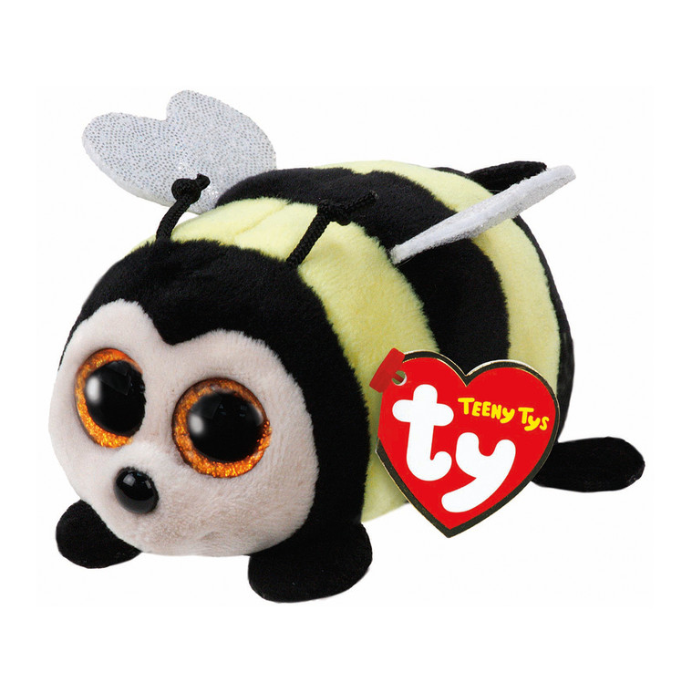 With his short round body, Zinger the Bee Teeny Ty is the perfect cuddly companion for your little star. This brightly coloured, highly tactile toy features soft wings and rope antennas that are great for little ones to experiment with touch and it's large 'Boo' eyes will have them falling in love with this little zinger.