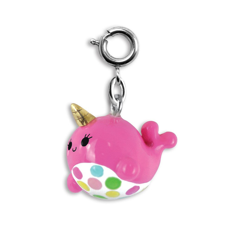 Narwhale Charm to accesorize your charm bracelet