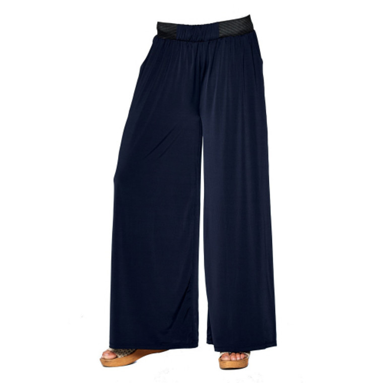 Magic Pants are AMAZING! One Size fits Most (no, really), they easily fits size 0 to 16! Too long, no seamstress needed! Simply cut the bottom! The don't shred, they don't roll. They are seriously the most comfortable pants you will ever wear. Great for a casual look with a tank or tee, but can be easily dressed up for work or a dinner date! Want a classy swimsuit coverup? You got it! These babies dry in a snap!