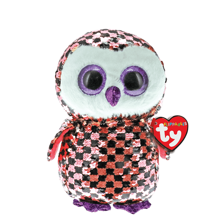 Topper's cool cousin is an outrageous owl! Checks is up for a game, any time of day or night. And wherever she turns up, she's always a delight! Checks-out her cool new sequin look today!  BIRTHDAY:  November 19  POEM:  I sit up high in the tree But I can see you watching me My sequins shine as I take flight I am a creature of the night