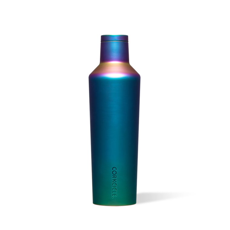 Enjoy your favorite cold or hot beverage anytime, anywhere. Crafted from stainless steel with proprietary triple insulation. Keeps drinks ice cold for up to 25 hours or hot for up to 12 without freezing or sweating. Cold even longer for drinks containing ice.  • Slip-proof, silicone bottom • Easy-grip sides • Screw-on cap