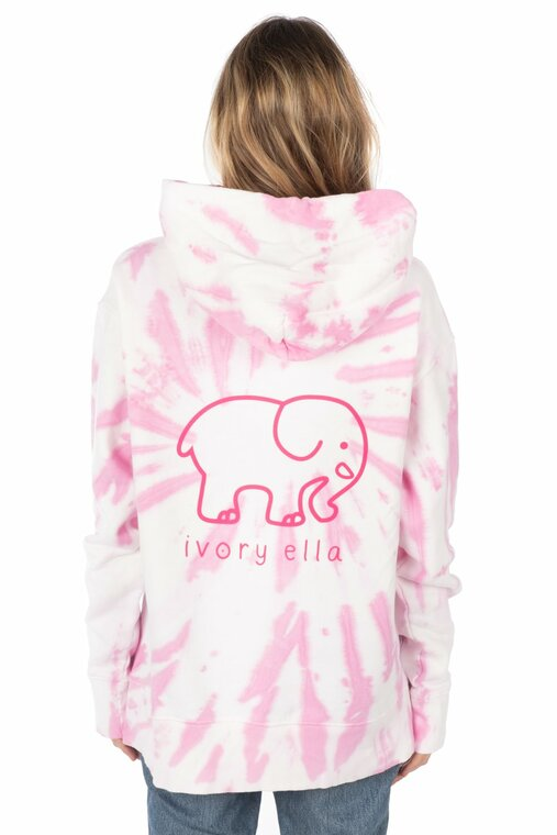Looking to add a little bit of pink to your closet? Look no further! Get comfy, cute & ready for Fall in this Carmine Rose hoodie!