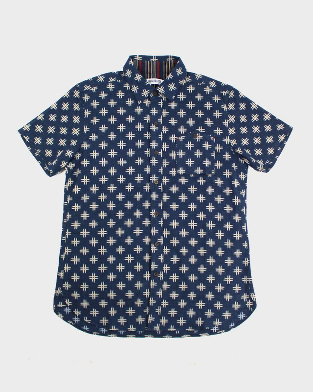 Short Sleeve Button-Up, Igeta