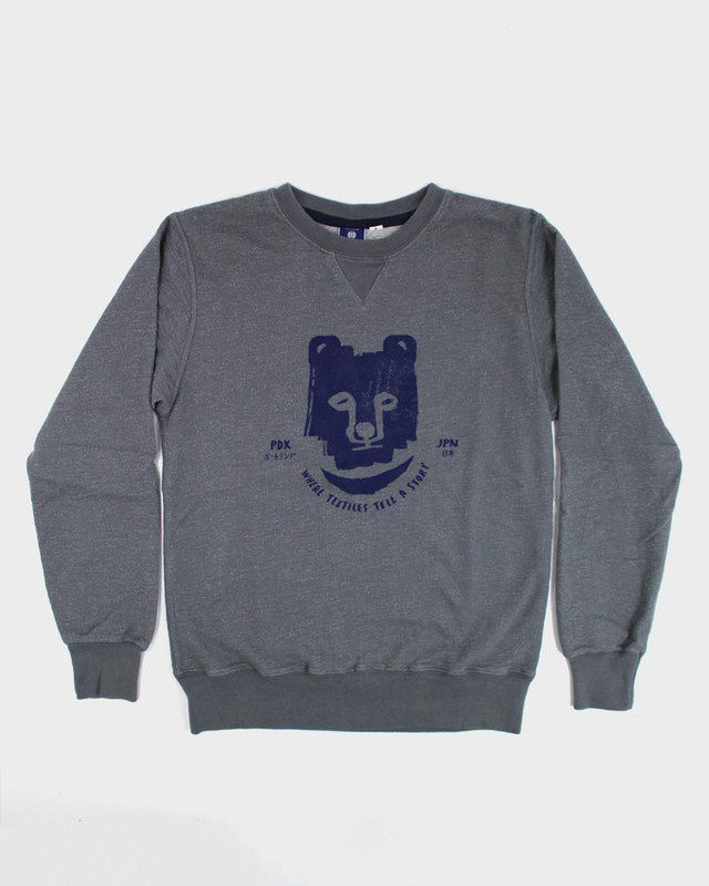 Printed Kuma Sweatshirt, Gray