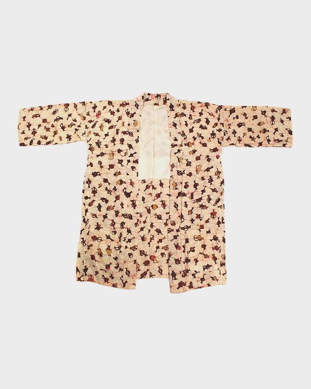 Modern Cut Kimono Haori Jacket, Vases
