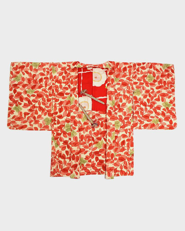 Vintage Kimono Haori Jacket, Spring Festival