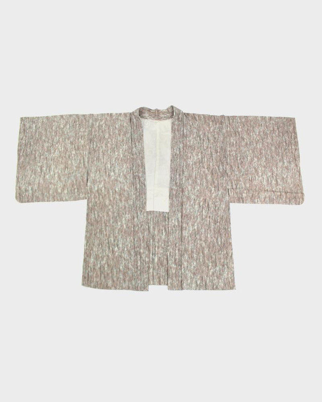 Vintage Kimono Haori Jacket, Dusty Jade