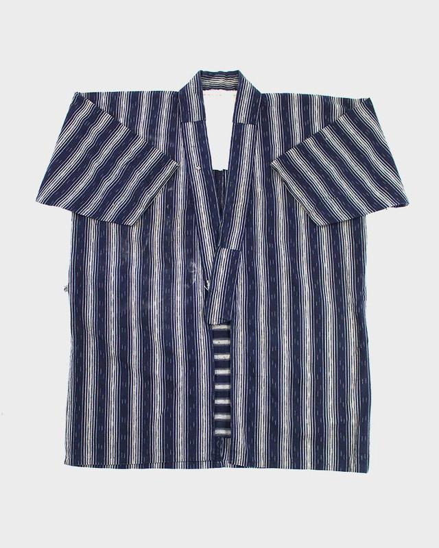 Vintage Noragi Jacket, Stripes