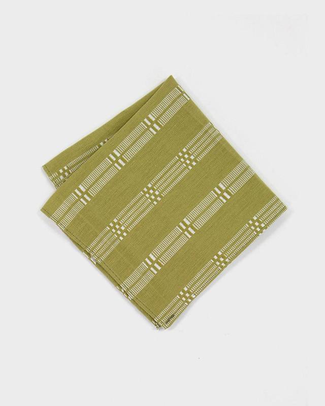 Pocket Square, Lime Shuri-Ori