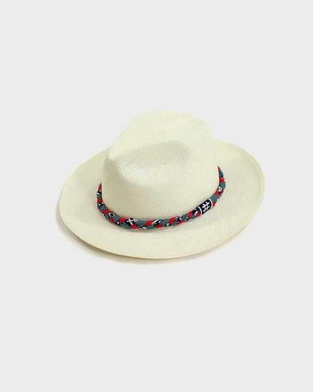 Panama Hat, Igeta and Red