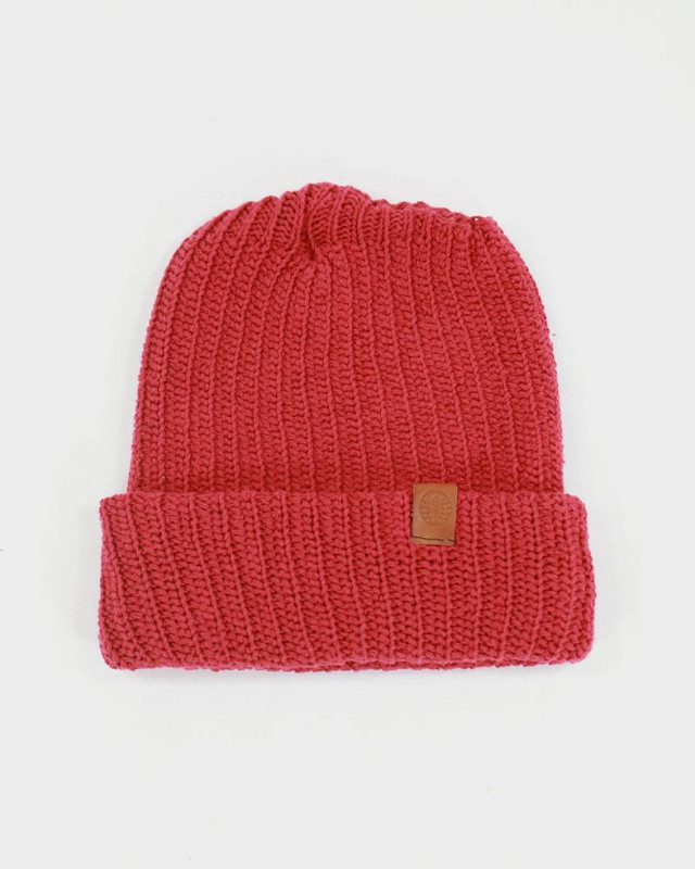Knit Cap, Red
