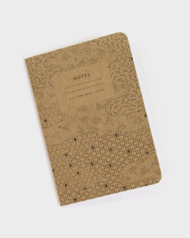 Katazome Pattern Notebook, Mist