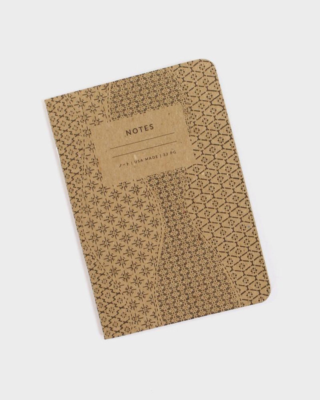 Katazome Pattern Notebook, Waves