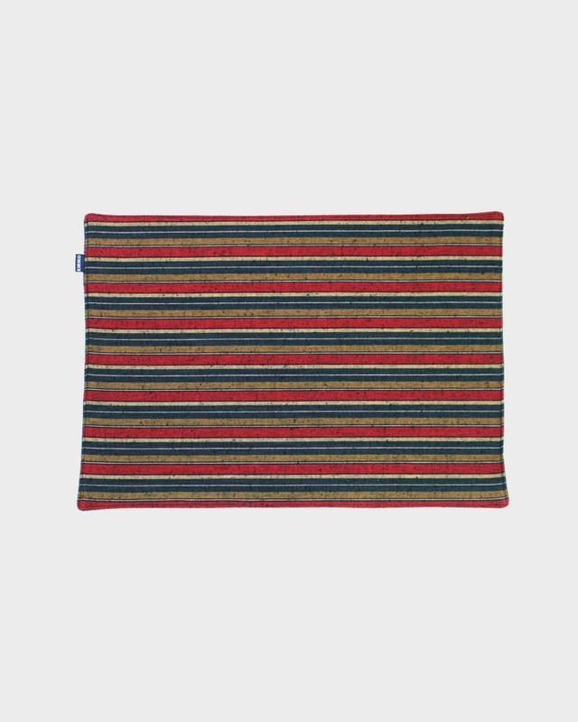 Table Mat x 4, Woven Stripe 01