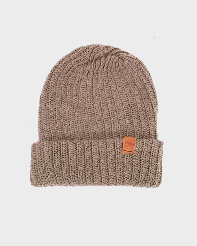 Knit Cap, Light Brown