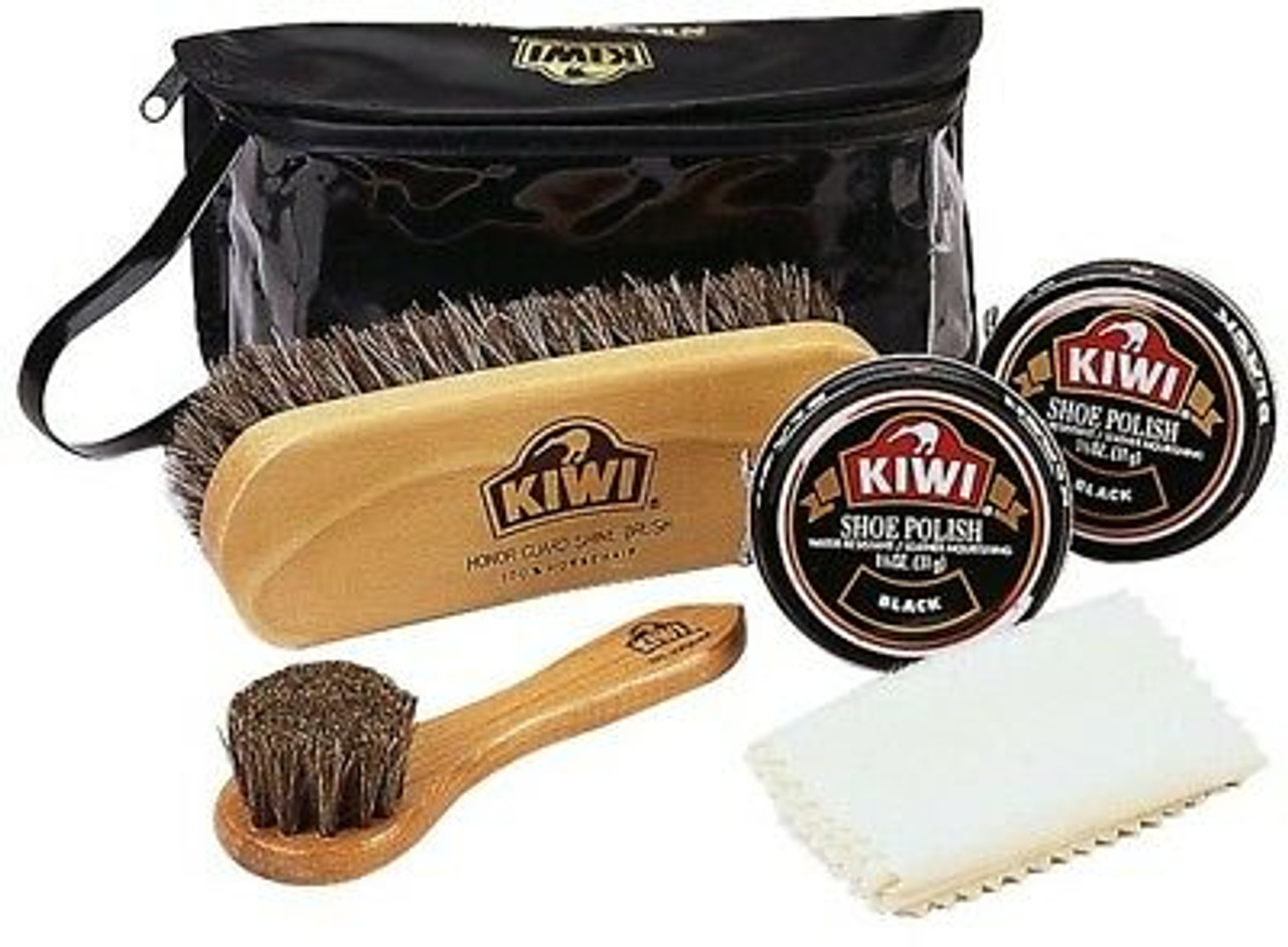 best website best supplier new lower prices Kiwi Military Black Shoe Shine Complete Care Kit M-26 - Army Universe