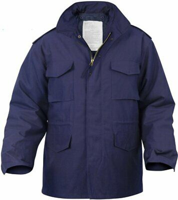 Navy Blue Military M-65 Field Coat Army M65 Jacket with Liner