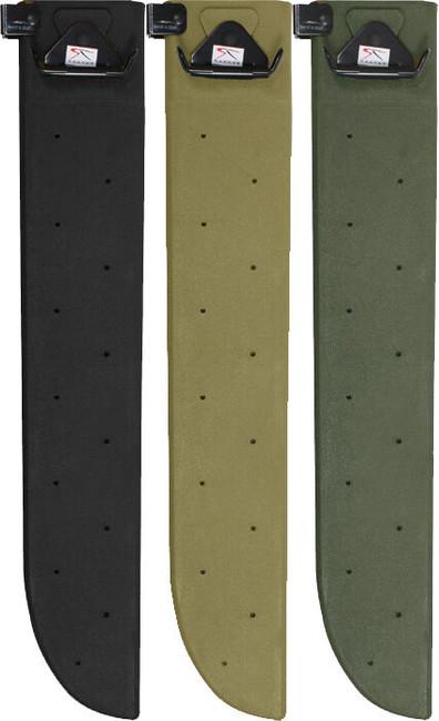 "Hard Shell Machete Sheath 18"" Tactical Military Knife Blade Plastic Cover"