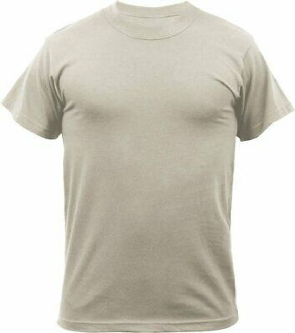 Desert Sand Quick Drying Moisture Wicking Military T-Shirt