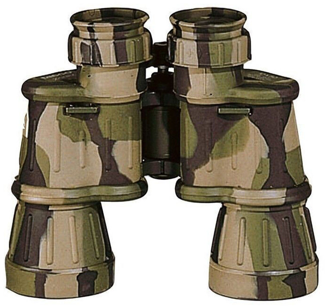 Woodland Camouflage 10 x 50MM Wide Angle Binoculars with Case