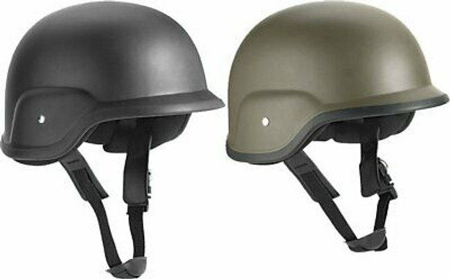 ABS PASGT Plastic Replica Military Armor Helmet & Strap