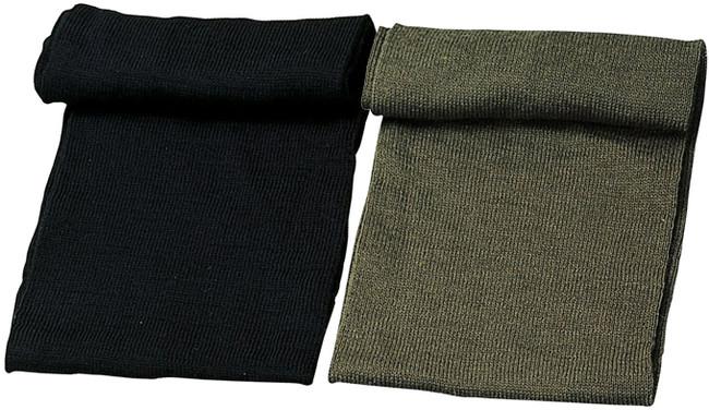 "100% Wool Genuine GI Military Neck Warmer Scarf 55"""