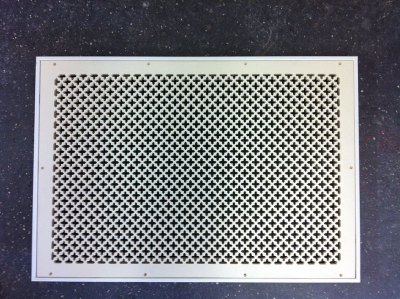 A custom vent cover return solves an ugly issue! - Majestic
