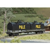 ATLAS 50004660 Cushion Coil Car - WCTU Railway (P&LE) #142062 (SCALE=N) Part # 150-50004660
