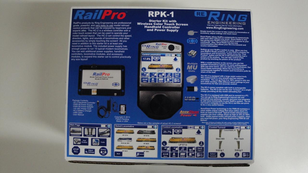 RPK1 Ring Engineering / RailPro Starter Kit (Scale=ALL) YANKEEDABBLER Part # = 634-RPK1
