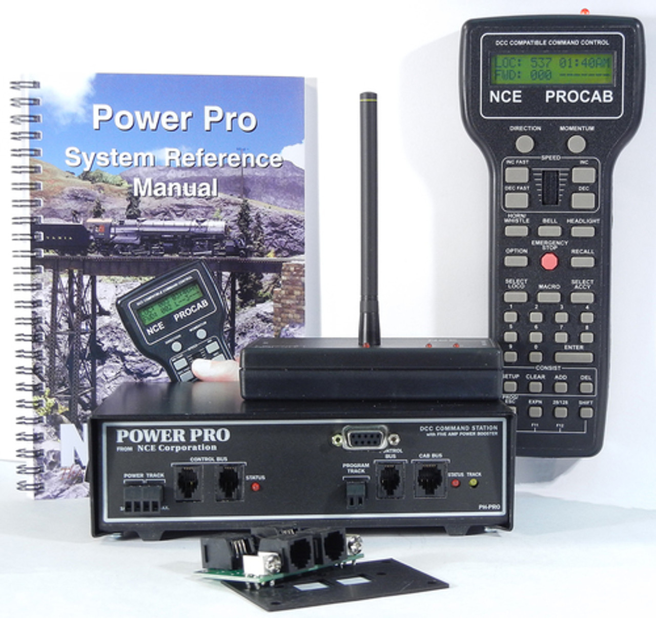 2 NCE /  PH-PRO-R Wireless Power Pro STARTER S (SCALE=ALL) Part # = 524-2