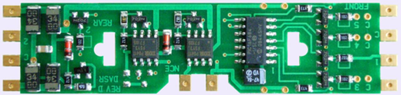 107 NCE /  DA-SR DCC Control Decoder 4-Pack 1.3 (SCALE=HO) Part # = 524-107