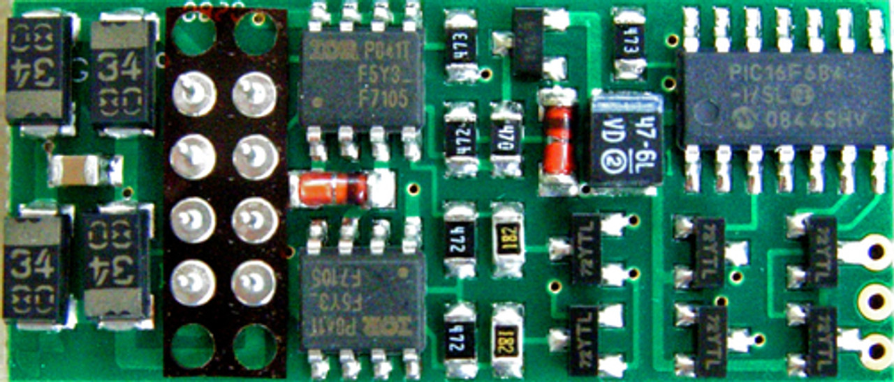 108 NCE /  P2K-SR DCC Control Decoder 1.3 Amp - (SCALE=HO) Part # = 524-108