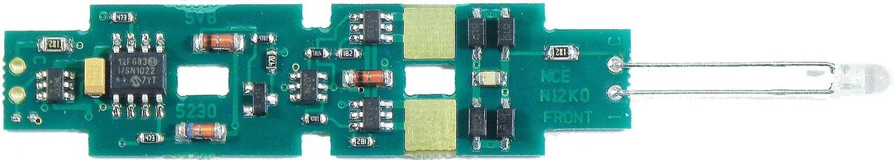 126 NCE /  N12K0a Drop-In DCC Decoder -- Fits Kat (SCALE=N) Part # = 524-126