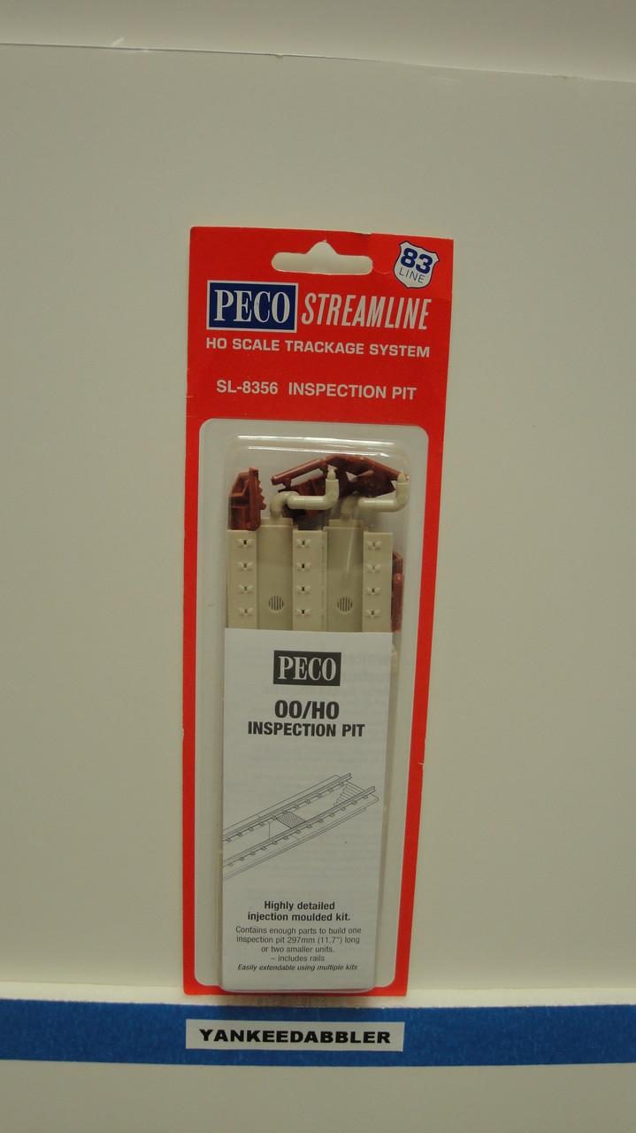 SL-8356 Peco / SL-8356 HO Code 83 Inspection Pit (SCALE=HO ) P Part # PCO-SL-8356