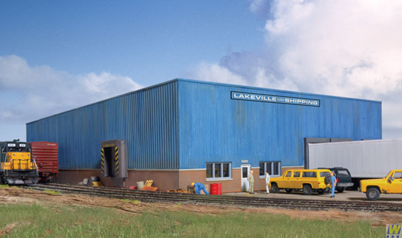 2917 Walthers  Lakeville Warehouse (Scale=HO) Cornerstone Part#933-2917