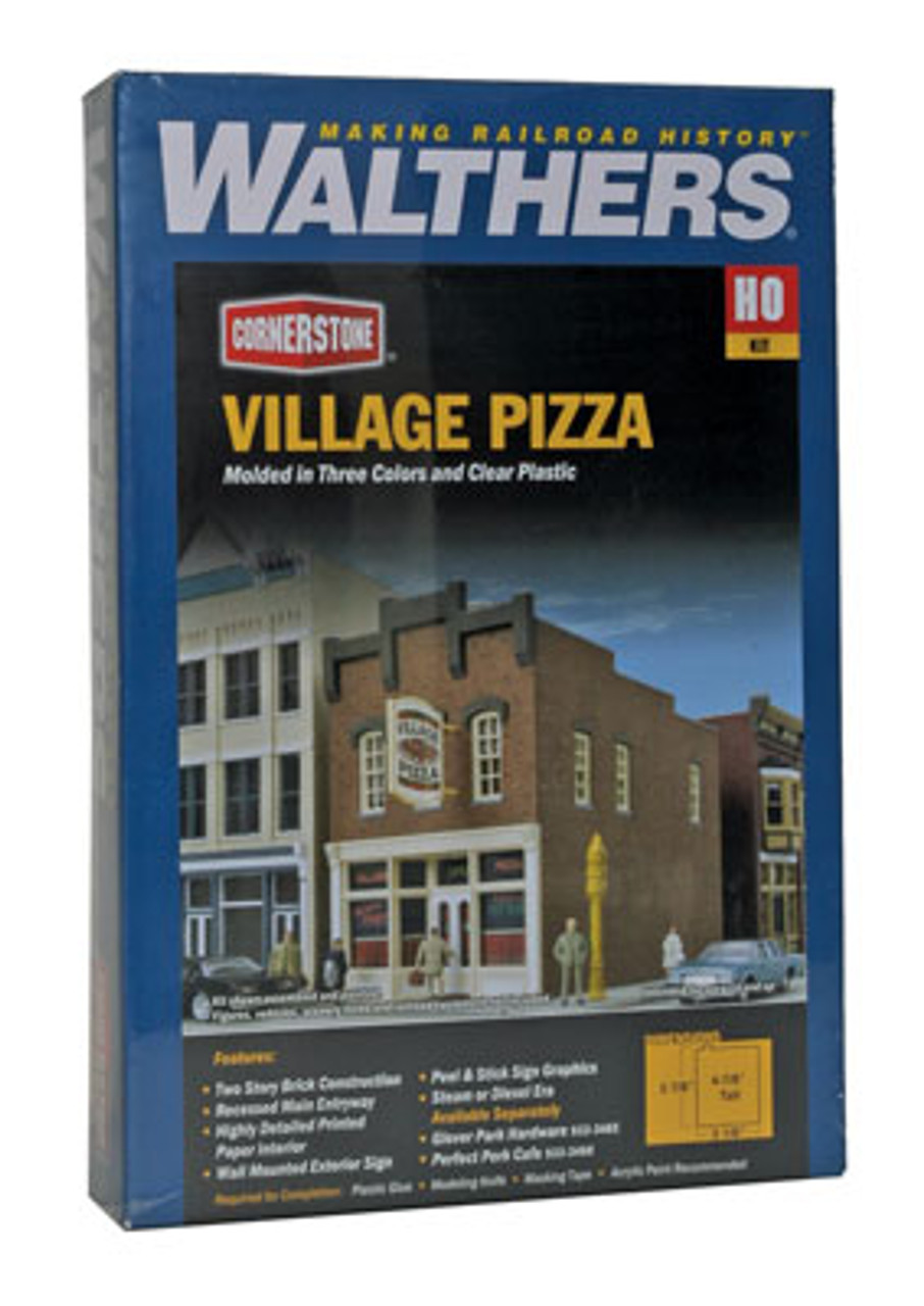 HO Scale Walthers Cornerstone 933-3465 Glover Park Hardware Building Kit