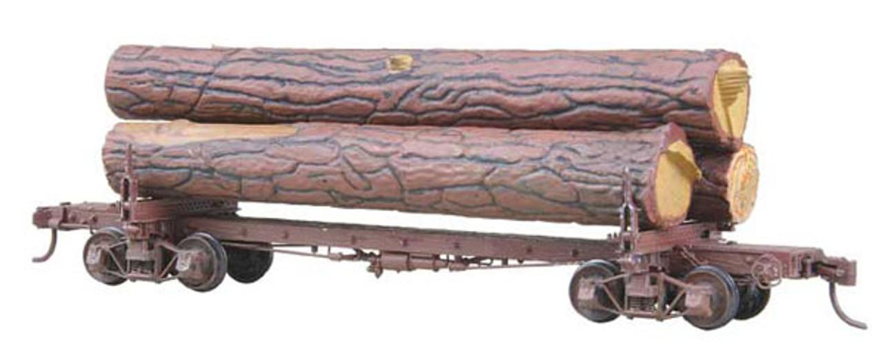 102 Kadee / Log Car Skeleton w/Load  (HO Scale) Part # 380-102