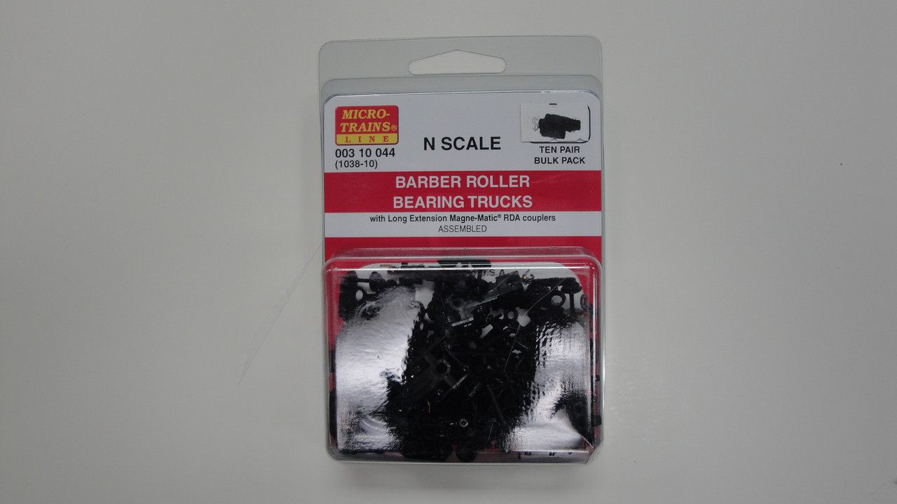 1037 YANKEEDABBLER MICRO TRAINS {003 02 042} BARBER ROLLER BEARING TRUCKS