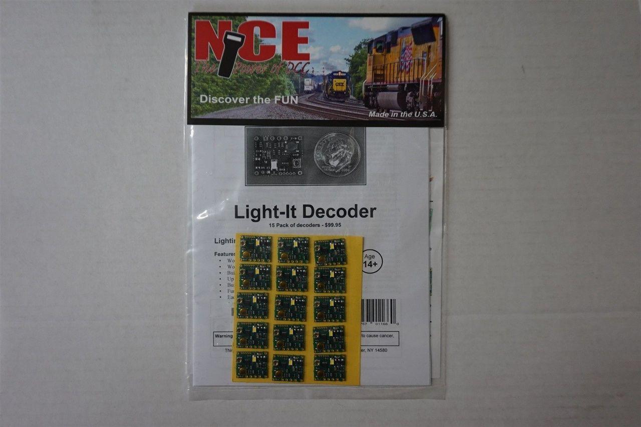 163 NCE - Light-It Lt/Sgnl Dcdr 15/ Part # 524-163