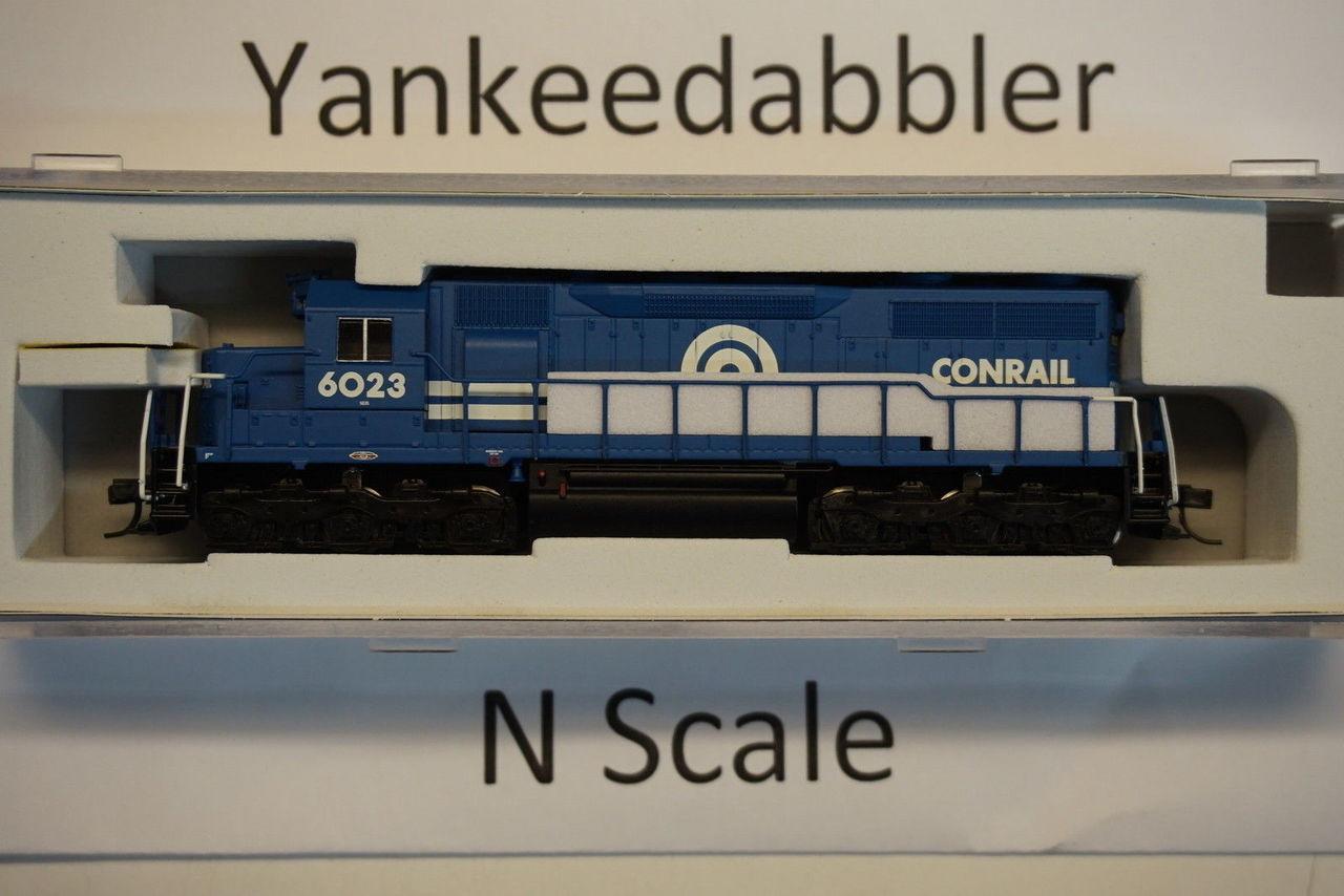 ATLAS 40003731 / EMD SD35 Low Nose - LokSound & DCC - Master(R) Gold -- ConRail # 6023 (blue, white)  Atlas Model Railroad Co.  - (SCALE=N) Part # 150-4000373