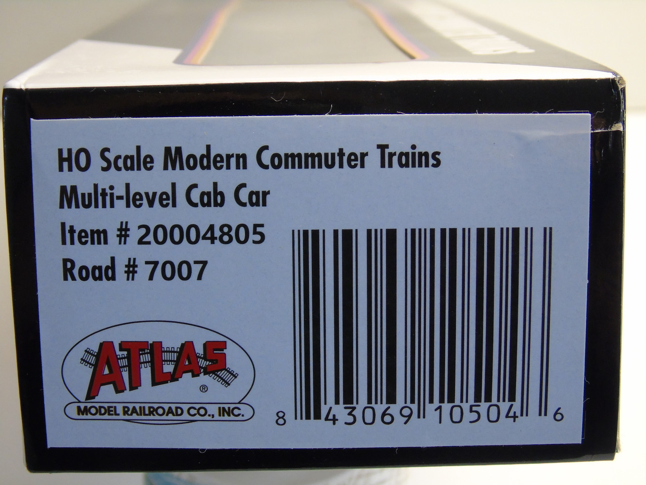 Atlas 20004805 NJ Transit Modern Commuter Cab Car #7005 (HO Scale) 150-20004805