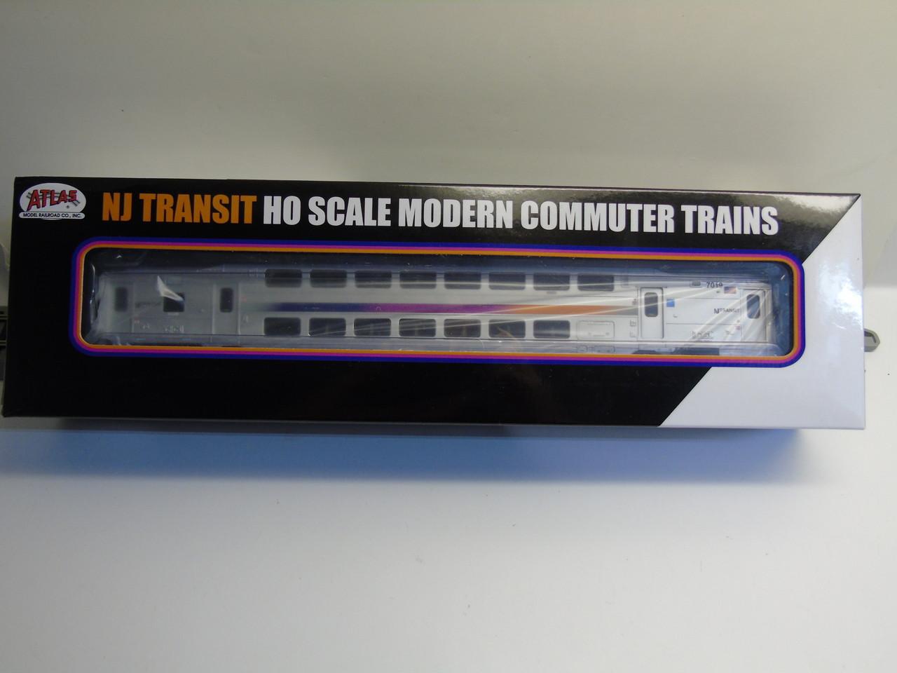 Atlas 20004806 NJ Transit Modern Commuter Cab Car #7019 (HO Scale) 150-20004806