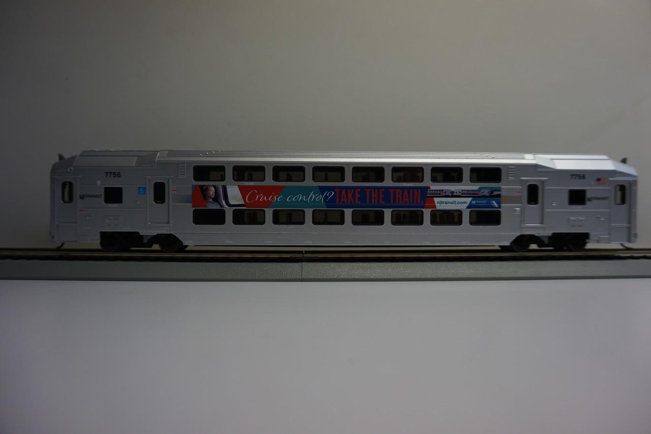 Atlas 20004825 Cruise Control Nj Transit Multi Level Trailer With