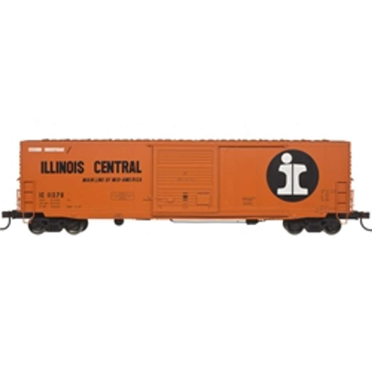 "20004754 Atlas IC Illinois Central #11378 50' 6"" Boxcar (HO Scale) Part # 150-20004754"