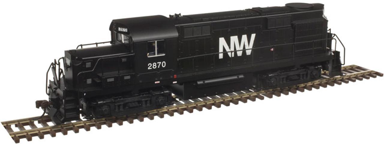 10002667 Atlas  RS-36 NW Norfolk & Western #2872 w/LokSound & DCC - Gold (SCALE=HO) 150-10002667