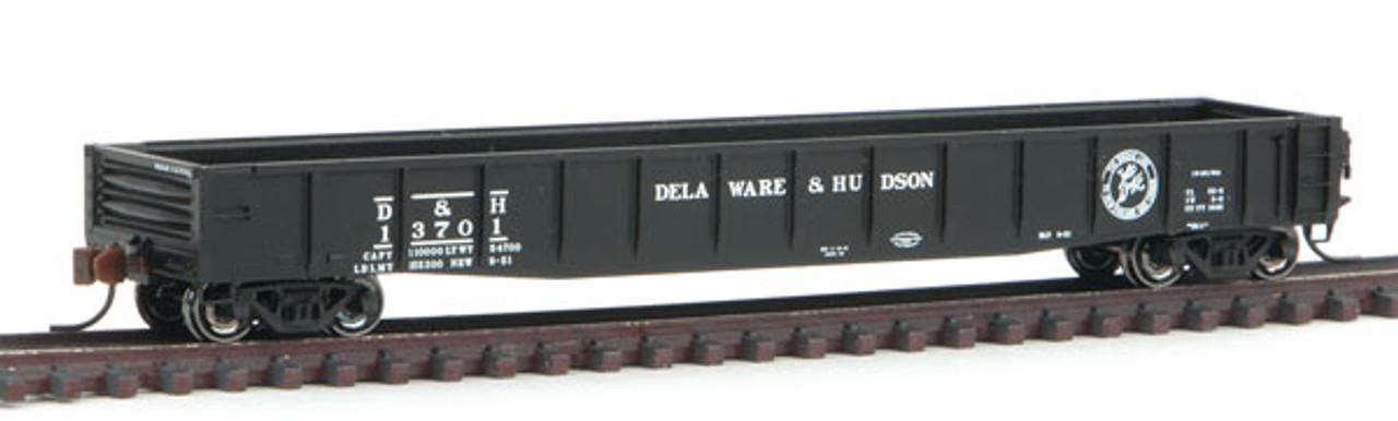 50003408 Atlas ACF 52' Gondola - D&H Delaware & Hudson #13808 (Scale=N) 150-50003408
